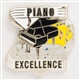 Piano Excellence Pin