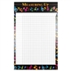 Bright Notes Incentive Wall Chart