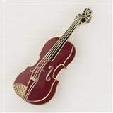 Violin Enamel Pin
