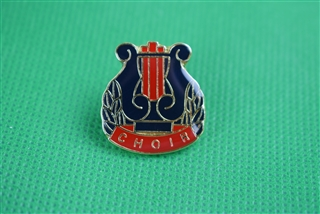 Choir Lyre Pin
