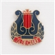 Glee Club Enamel Lapel Pin