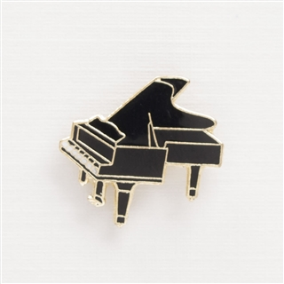 Mini Grand Piano Enamel Pin