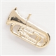 Golden Euphonium Pin