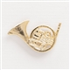 French Horn Pin