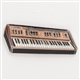 Vintage Keyboard/Synth Enamel Pin