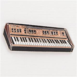 Great Vintage Keyboard/Synth Enamel Pin