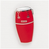 Red Conga Drum Enamel Pin