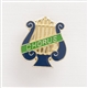 Lyre 'Chorus' Enameled Pin
