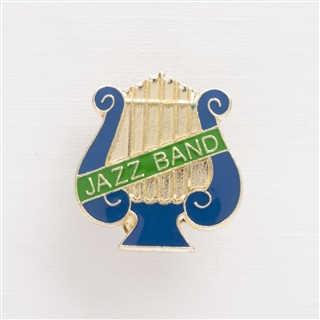 Lyre 'Jazz Band' Pin