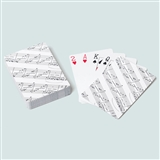 Sheet Music Playing Cards