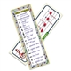 Music Basics Bookmarks, Pack of 36