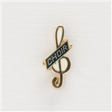Mini G-Clef 'Choir' Pin