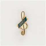 Mini G-Clef 'Dance' Pin