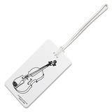 Violin Luggage ID Tag