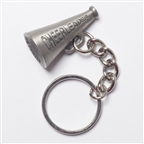 Cheerleader Pewter Keychain
