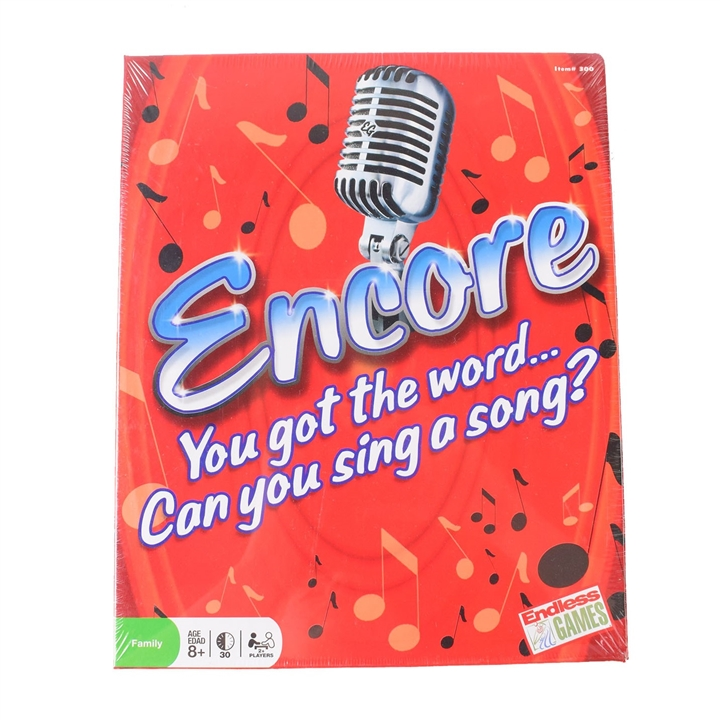 Encore Music Board Game At Friendship House