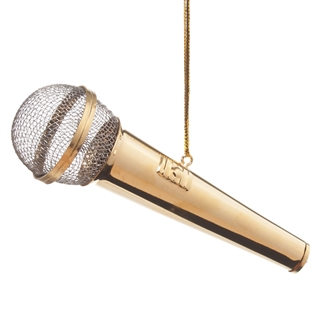 Microphone Ornament