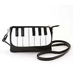 Fashion Piano Keys Crossover Bag
