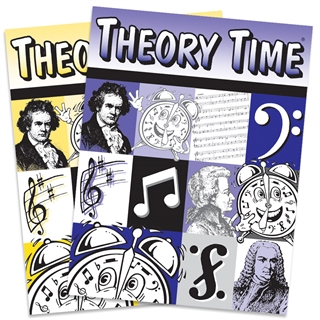 Theory Time - Answer Sheets For K - 2nd Grade