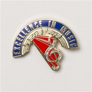 Excellence in Music Lapel Pin
