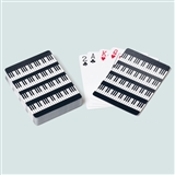 Piano Keys Playing Cards
