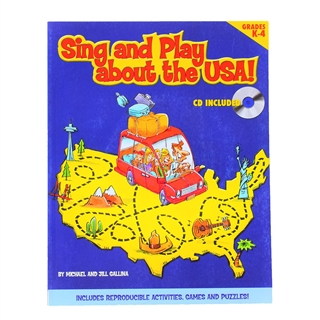 Use songs to teach young students about the USA...