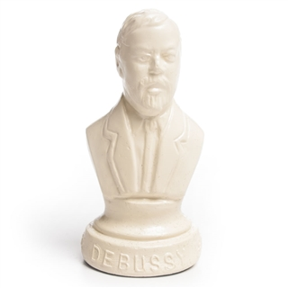 Debussy Resin Bust