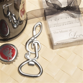 Treble Clef Bottle Opener