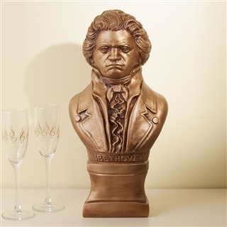 Beethoven Cast Stone Bust