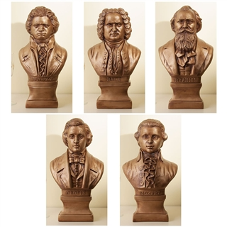 Composers Cast Stone Busts
