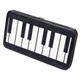 Piano Keys Flat Wallet