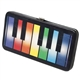 Rainbow Piano Keys Flat Wallet