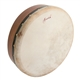 "Roosebeck Fixed Head Rosewood Bodhran with Cross-bar, 14"" x 3.5"""