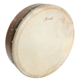 "Roosebeck Tunable Rosewood Bodhran with Cross-bar, 14"" x 3.5"""