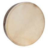 "Roosebeck Tunable Rosewood Bodhran with Cross-bar, 18"" x 3.5"""