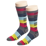 Snazzy Keyboard Men's Mid-Calf Socks