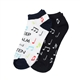 Men's 'Keep Calm and Listen' No-Show Socks