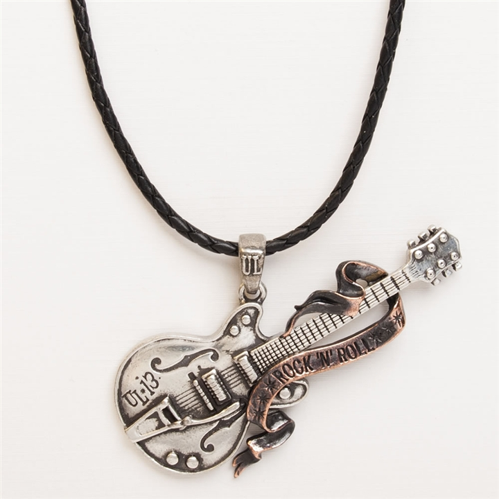 music necklace heavy choker fullxfull products jewelry guitar il metal original rock