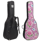 Floral Cheetah Guitar Bag
