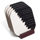 Piano Keyboard Coasters Set With Stand