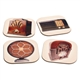 Vintage Radios Coasters Set With Stand