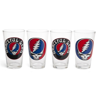 Grateful Dead Pint Glasses