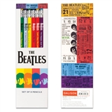 Beatles Songs Pencils
