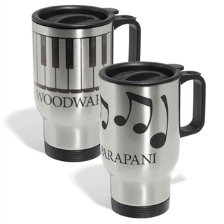 Personalized Music Design Travel Mug