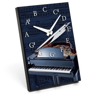 Chromatic Scale & Instrument Desk Clock
