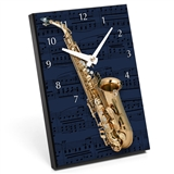 Numerals & Instrument Desk Clock