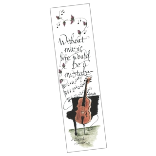 Without Music Bookmark