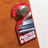 'Practice in Session' Door Hanger