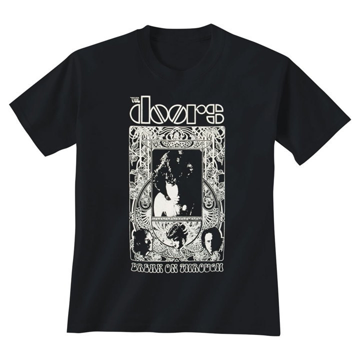 The Doors Break On Through T-Shirt  sc 1 st  The Music Stand : doors shirt - pezcame.com