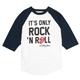 Rolling Stones It's Only Rock 'n' Roll Baseball Shirt - Large